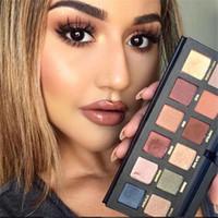 Новый Марио тени для век Палитра макияжа Тени 12 цветов палитры eyehadow макияж красоты DHL Быстрая доставка