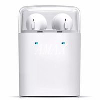 Écouteurs intra-auriculaires Bluetooth True Dacom 7s authentiques pour iPhone 7 7 plus Écouteurs doubles pour écouteurs Samsung samsung
