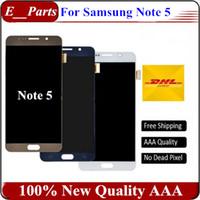 100% Original AAA qualité pour Samsung Galaxy Note 5 LCD G9200 N920F N920T LCD écran tactile numériseur remplacement rapide Livraison gratuite