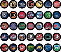 Free shipping Sport Hockey 35pcs   lot glass snap button jew...