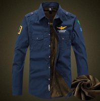 Мужчины Зима фланели Толстые рубашки платья с длинными рукавами хлопка способа вскользь рубашки качества Британский Стиль руно Wear Мужской Army