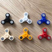 2017 Le plus récent Fidget Spinner Spinner à main Tri Fidget HandSpinner Focus Toy EDC pour le temps de tuer pour les enfants Adultes avec le sac opp Livraison gratuite
