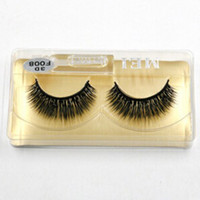XF Lifelike Handmade False Eyelashes 1- 1. 5cm Hand Made Synth...
