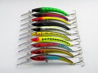 New Mixed Fishing lure 10pcs set Artificial Baits Minnow Fis...