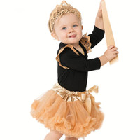 Baby Girls Lace Rompers Sets 2017 Newborn Jumpsuit+ Ballet Sk...