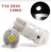 100PCS T10 3030 1SMD For Car License Plate Parking Lights Si...