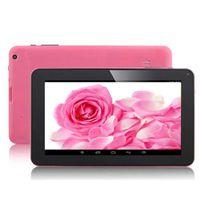 9 pouces Tablet PC 4 Core Android 5.0 AllWinner A33 1Go + 16Go 1.5Ghz avec double caméra Bluetooth capacitif Touch Screen Tablets