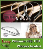 HBS Bluetooth HBS1100 HX1100 HBS-1100 sans fil Bluetooth 4.1 casque stéréo casque bande pour LG Samsung (Nous avons également HBS900 HBS800)
