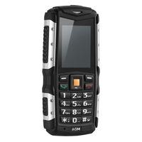 Original AGM M1 IP68 impermeable a prueba de golpes teléfono FM altavoz 2570mAh larga espera móvil 3G 2.0