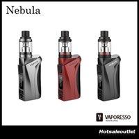 Authentique Vaporesso Nebula TC Kit avec 100W Nebula Box Mod et 2ml / 4ml Veco Plus Tank 100% Original