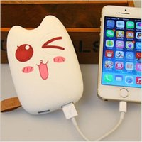 Power Bank 20000mah Dual USB Lovely Cartoon powerbank extern...