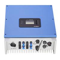 Два MPPT трекера Инвертор 8kw 230VAC 50/60 HZ высокоэффективный инвертор подключен к Gird для солнечной энергосистемы