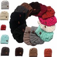 Unisex Lovers CC Шапочки вязаные шапки Cap Beanies Осень Зима Повседневная Cap Рождество Теплые шапки черепа шапки для женщин Мужчины PPA680