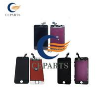 Pour iPhone 5 5G 5S 5C écran LCD écran tactile Digitizer pièces de rechange de réparation d'assemblage noir et blancDHL livraison gratuite