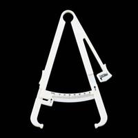 Mantenga la medida del cuerpo delgada Caliper personal Pérdida del cuerpo Fat Caliper Tester Accurate Measure Fitness Equipment