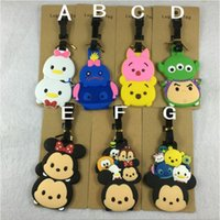 Lage Tag Travel Princess Mickey Minnie Cartoon Pikachu Star ...