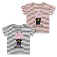 New Arrival Summer 2017 autumn fall baby boy blue striped co...