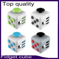 Top quality Fidget cube 11color with retail box best quality...