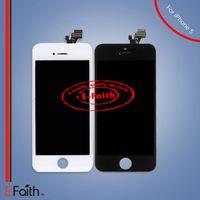 Vente en gros pour iphone 5 5G écran LCD avec écran tactile numériseur asssembled complet Livraison gratuite DHL