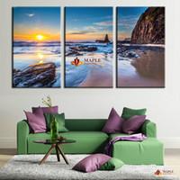 3 шт холст стены искусства декора картины HD вид на море отпечатки на холсте большие настенные картины для гостиной современного искусства картины дешевой современной холст