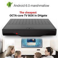 Amlogic S912 Android TV Boxes 6. 0 1GB 8GB KM8 Octa Core smar...