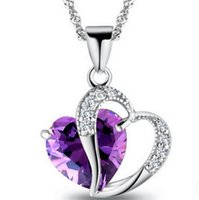 2017 new fashion jewelry high quality crystal necklace women...
