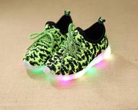 2017 Children LED light shoe children sports shoes fashion s...