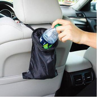 Car Vehicle Back Seat Appuie-tête Litter Trash Poubelle AICase Auto Seat Back Litter Bag Car Organisateur CCA6422 100pcs