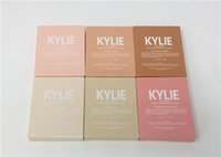 2017 HOT 6 Couleur Kylighter Kylie Surligneurs Kylie Cosmétique Strawberry Shortcake Candy Crème Salée Caramel Banane Split Kylighter