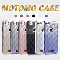 Pour iPhone 6S 6 7 plus Cas MOTOMO Slim Design Rugged TPU PC Boîtiers hybrides Housse d'armure de protection Samsung Galaxy S6 S7 Edge