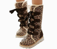 Women Keep Warm Snow Boots Flats Heel Comfortable Lace Up Mi...