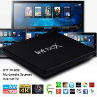 Smart TV Quad Core S905X 2GB 16GB Android Box Q8S Intbox Kod...