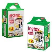 20pcs / lot haute qualité Instax White Film Intax pour Mini 90 8 25 7S 50s Polaroid appareil photo instantanée Livraison gratuite