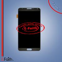 100% tout nouveau Galaxy note 3 gris LCD pour Samsung N9000 écran tactile digitizer assemblage