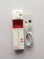 USB Type A à type C 9V 2A Câble haute vitesse 3ft avec la boîte de vente au détail originale pour huawei P9 Samsung note7
