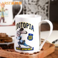 Wholesale- 2016 new cute zootopia coffee mug and cup novelty...