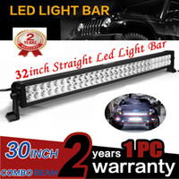 """32"""" Inch 180W Combo Spot Flood LED Light Bar for Work D..."""