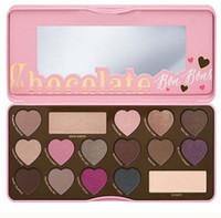 Brand Makeup Chocolat Ombre à paupières 16 couleurs Ombre à paupières Sweet Peach Bon Bons Paille Haute Qualité DHL Livraison gratuite