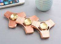 Новые Fidget Spinner HandSpinner Рука Spinner пальца EDC игрушка для декомпрессии Тревога из нержавеющей стали металлические игрушки