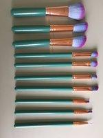 10шт макияж кисти с PU макияж кисти макияж кисти набор кисти красоты макияж комплект