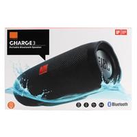 Новая зарядка 3 Bluetooth Speaker Waterproof Портативный Открытый сабвуфер HIFI Беспроводные динамики Лучшие качества