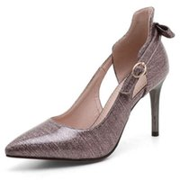 Comfortable working pumps office lady shoes with stiletto he...