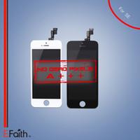 Aucun pixel mort pour la classe A +++ Écran d'affichage à cristaux liquides de SE de l'iPhone 5S Fonctionnent bien sur le remplacement de digistant d'écran de SE expédition libre