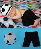 Newborn Photography Props Infant Boy Knitted Photography Pro...