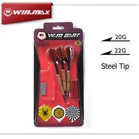 Darts With Accessories WINMAX Good Quality Steel Dart Barrel...