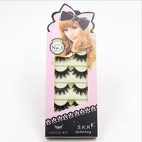 Plastic Cotton Stalk False Eyelashes 1- 1. 5cm Hand Made Synth...