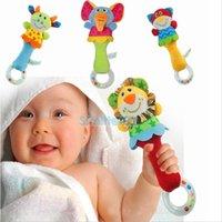 New Animal Handbells Musical Developmental Toy Bed Bells Kid...