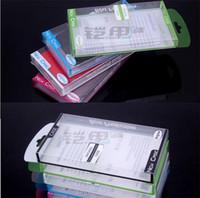 Caixas de empacotamento de plástico do PVC do PVC plástico universal para caixas do iphone 4 4S do iphone 4 5S 5C S3 S4 S2 da rotação S5 nota 2 3 Tampa do caso 282