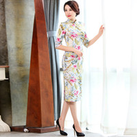Dresses for Womens In The New Long Sleeve Cheongsam Autumn C...