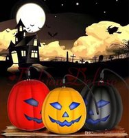 Halloween Pumpkin Bluetooth Speaker Mini Flashing light Wire...